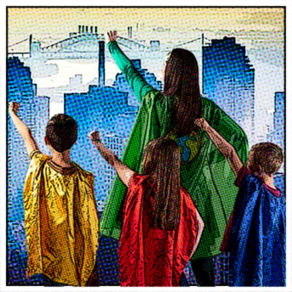 Superhero Academy poster