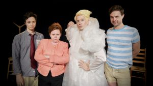 Tilda Swinton Fringe cast
