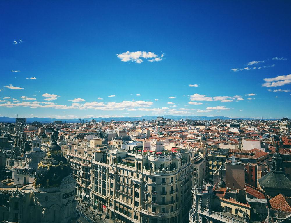 Madrid buildings