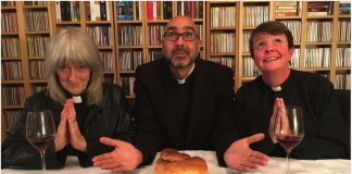 The vicars of White Collar Comedy