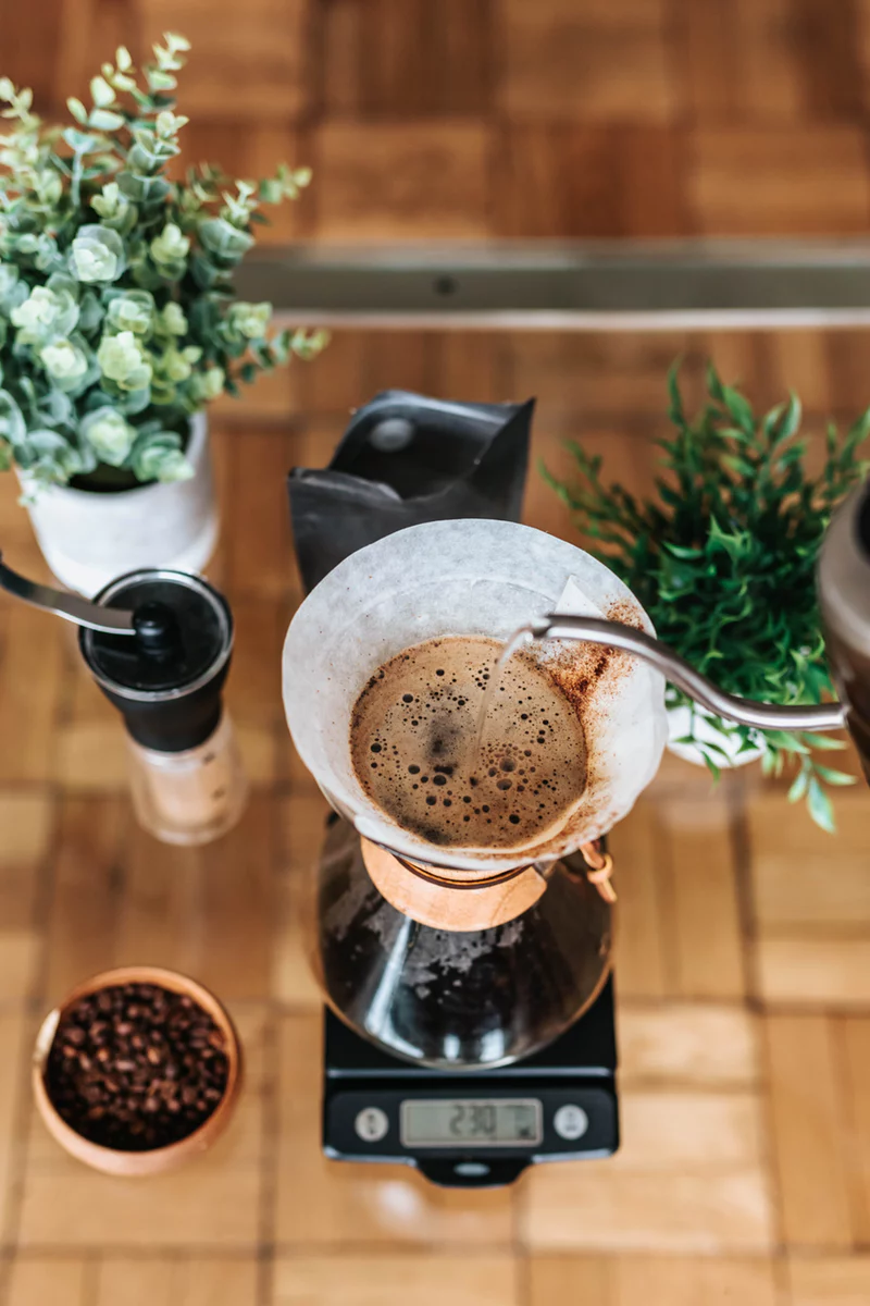 The brewing and distilling industry includes coffee suppliers and shops.