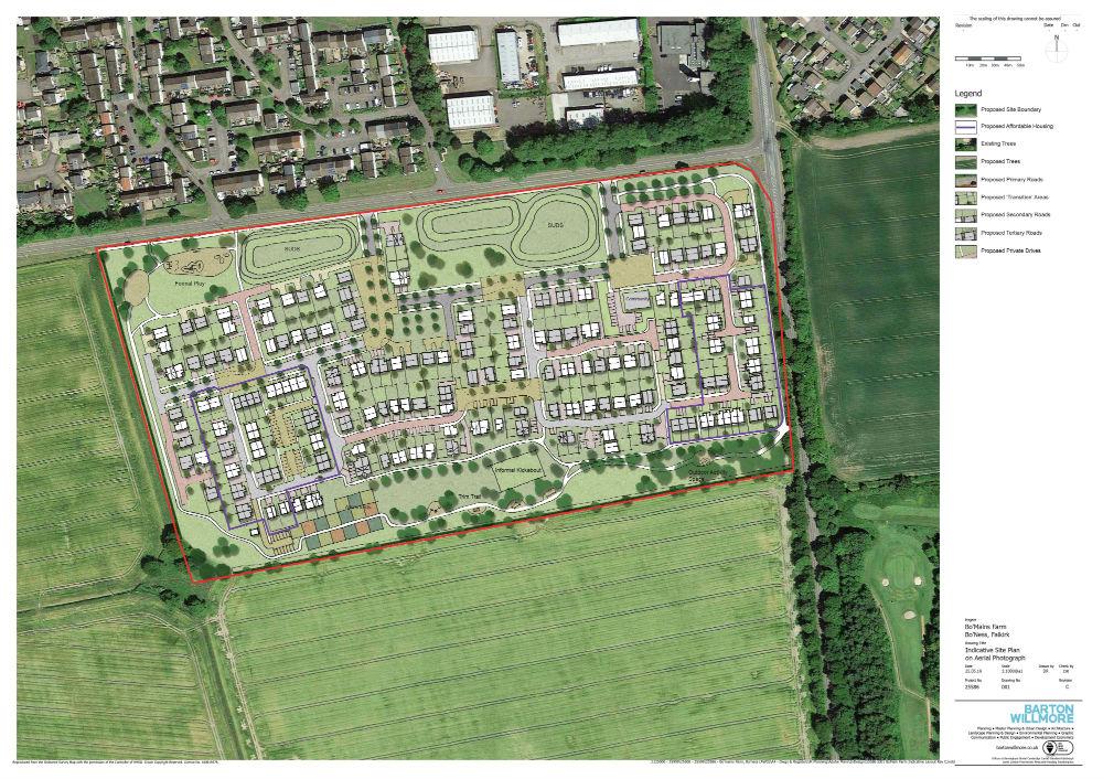 Property developer lodges £30 million housing development