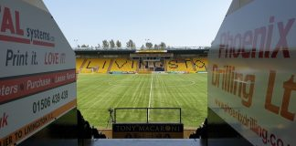 View onto the pitch of Livingston's Tony Macaroni Arena | Livingston news