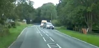 Convertible near miss