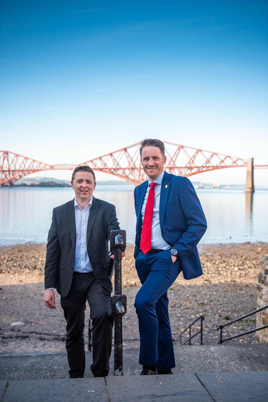 Neil Wheelan and Paul McCabe