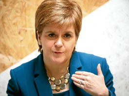 Nicola Sturgeon at the Fringe