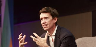 Rory Stewart speaking at interview