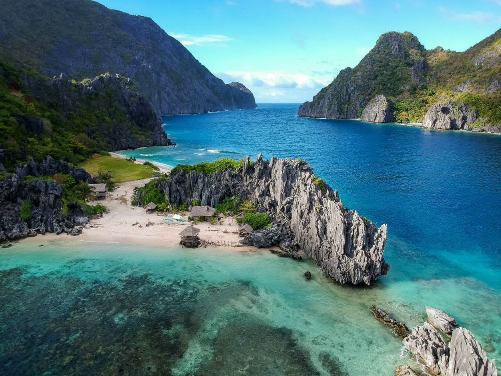 coastline in Philippines