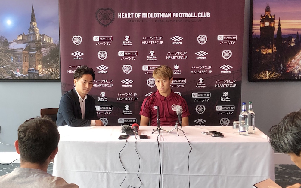 New Hearts forward draws will attempt to become a fan
