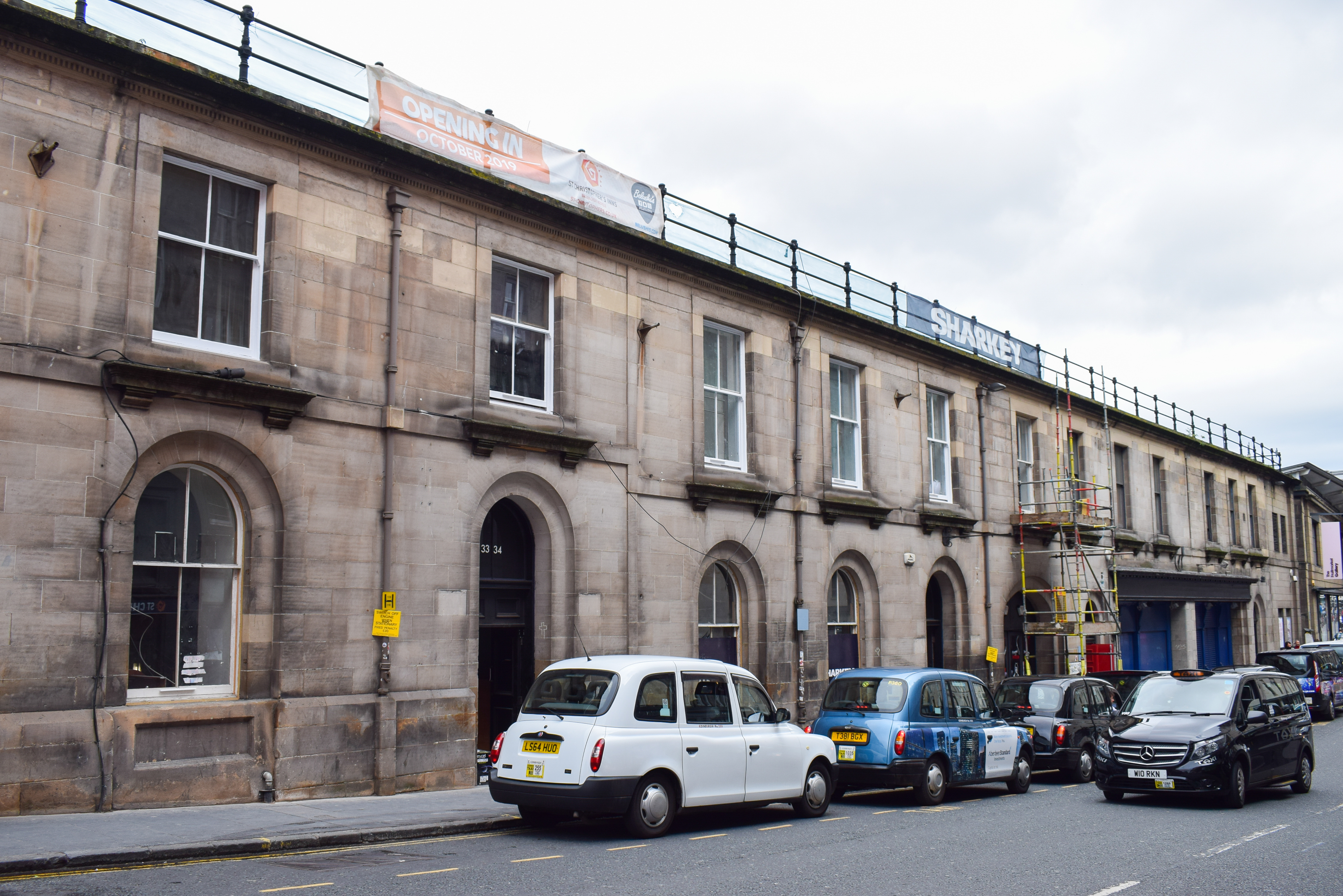 New venue for St Chrisopher's Inn in Market Street, Edinburgh