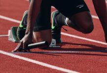 Track athelete
