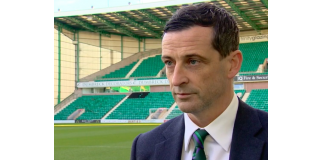 Jack Ross faces the cameras at Easter Road | Hibs news