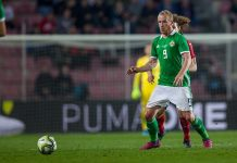 Hearts striker Liam Boyce in action for Northern Ireland | Hearts news