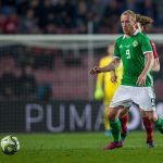 Liam Boyce plays for Nothern Ireland   Hearts news