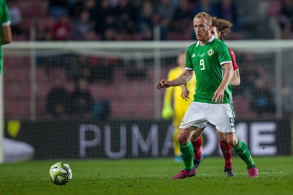 Liam Boyce plays for Nothern Ireland | Hearts news