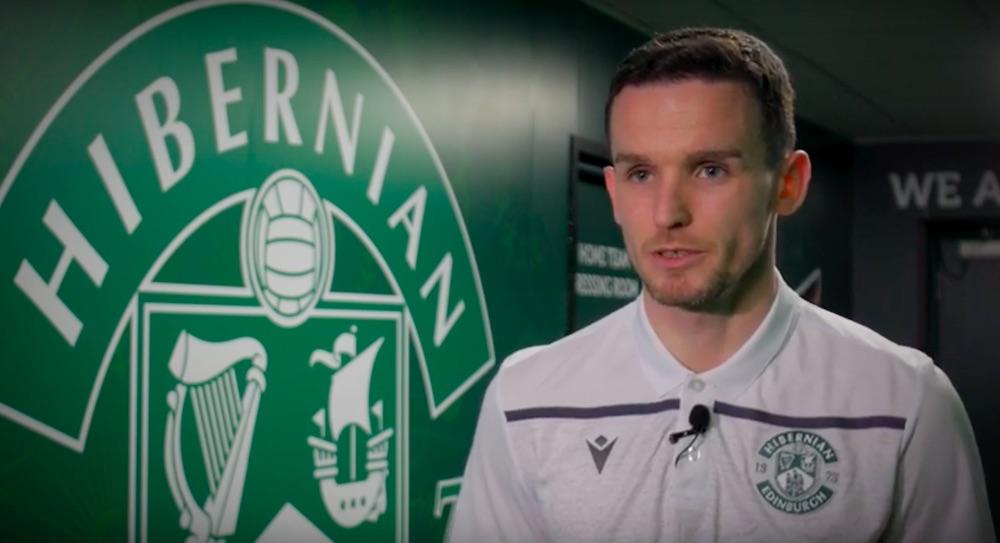Hibs defender Paul McGinn   Hibs news