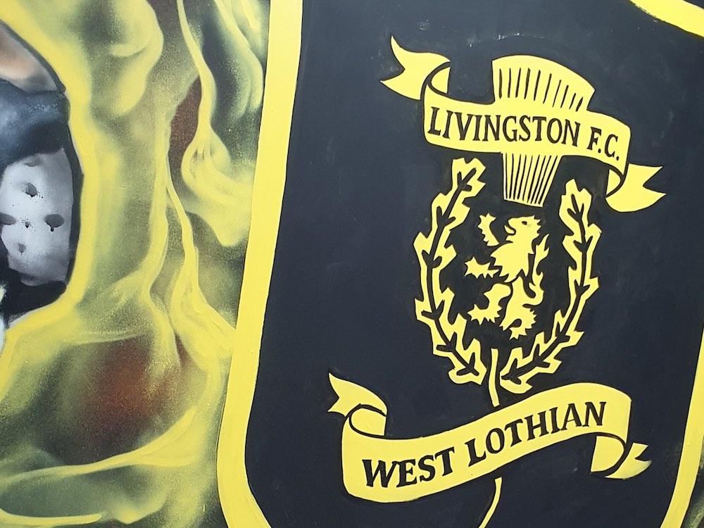 Artwork inside Livingston's media room | Livingston news