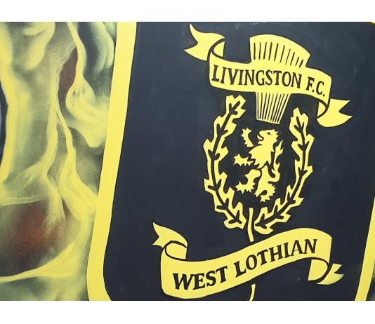 Artwork inside Livingston's media room   Livingston news