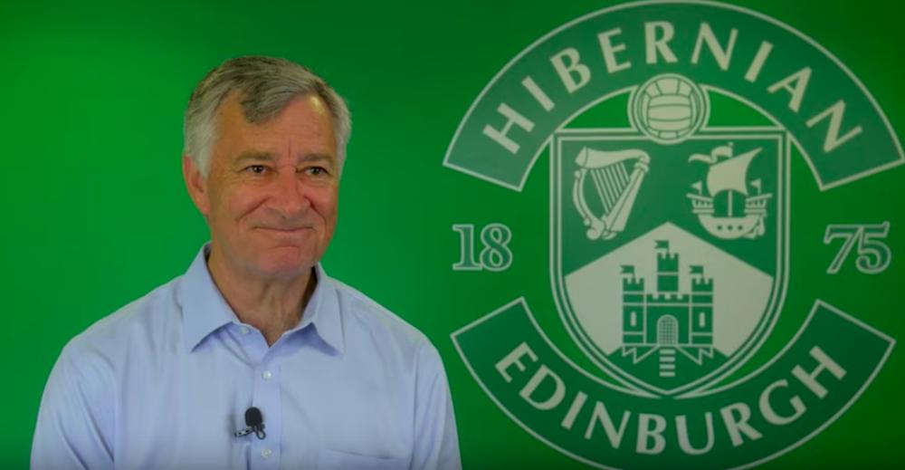 Hibs' new owner Ron Gordon | Hibs news