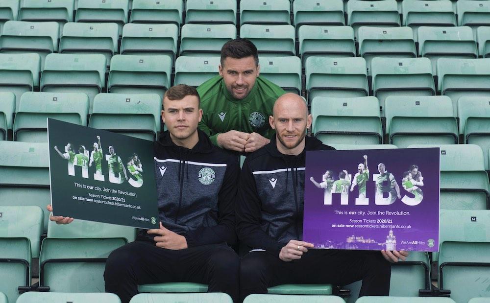 Ryan Porteous, Darren McGregor and David Gray launch Hibs' 2019/20 season tickets | Hibs news