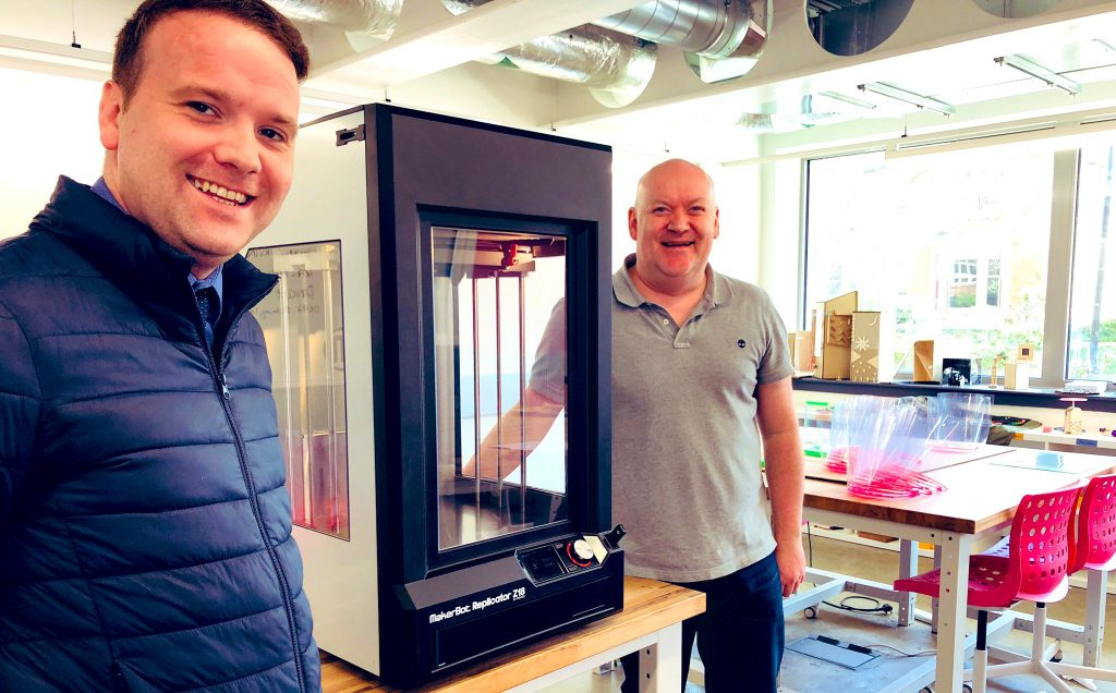 3D printer donated to NHS protective gear campaign