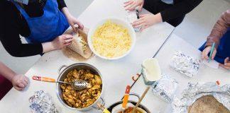 Edinburgh Food Social - 25 April 2017 - School Event - by Jacek Hubner