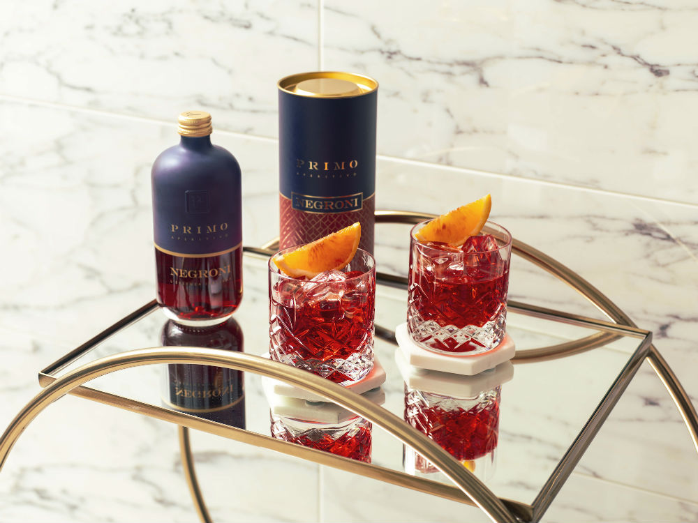 Primo's bottled Negronis- Food and Drink News Scotland