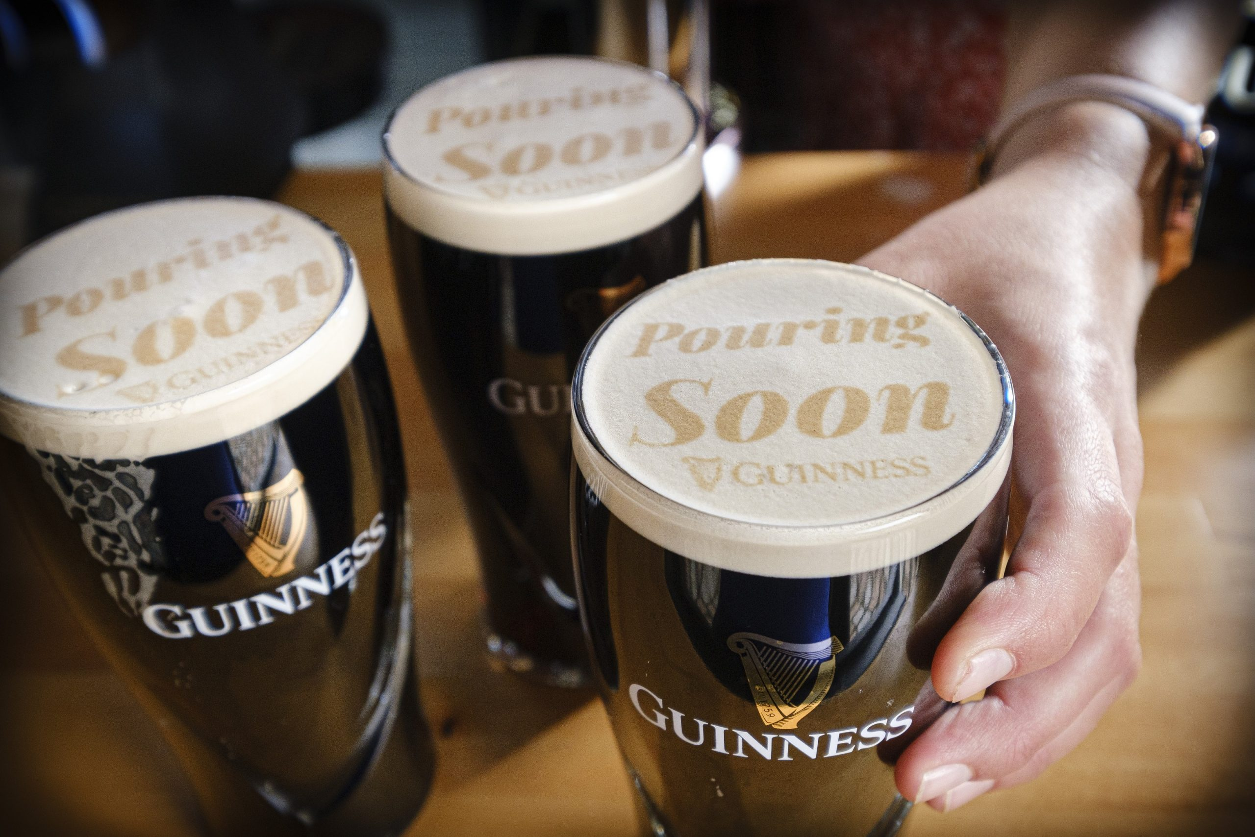 Pictures of Guinness pints- Food and Drink News Scotland