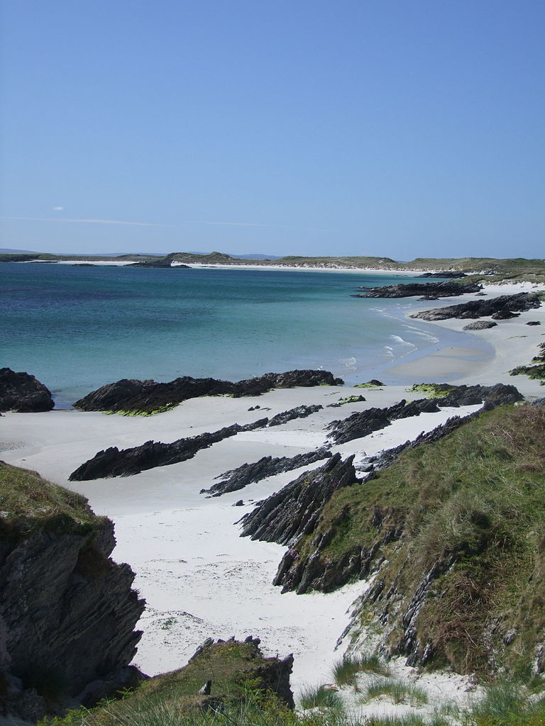 Beach on Isle of Colonsay
