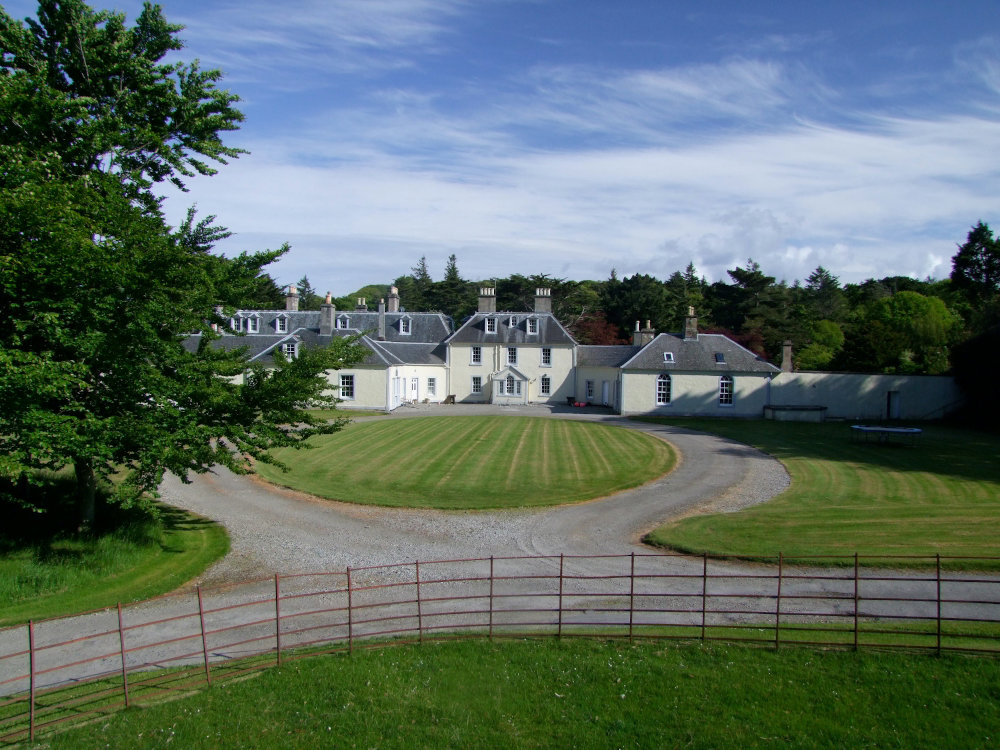 Colonsay House owned by Lord Strathcona who is reopening holiday lets