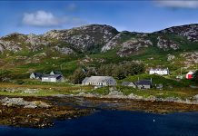 View of Colonsay Harbour