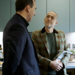 David Stirling and Michel Roux Jr at the launch of their new home and kitchen range