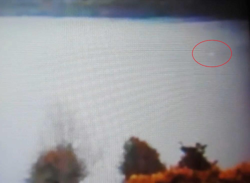Figure in Loch Ness