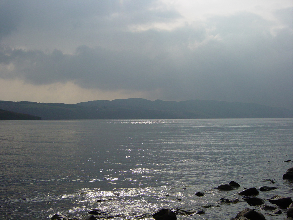 Mist over Loch Ness