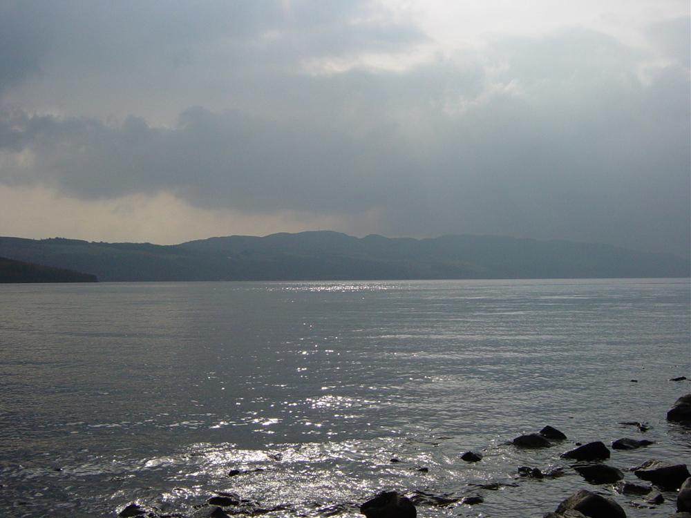 Mist over Loch Ness