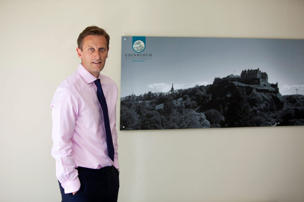 Neil Mitchinson director of Edinburgh Asset Finance has been helping people to get through the crisis by allowing them acquiring loans on their financial assets.