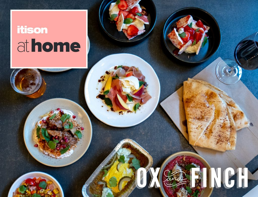Ox and Finch revealed as Itison at home;s new dining service