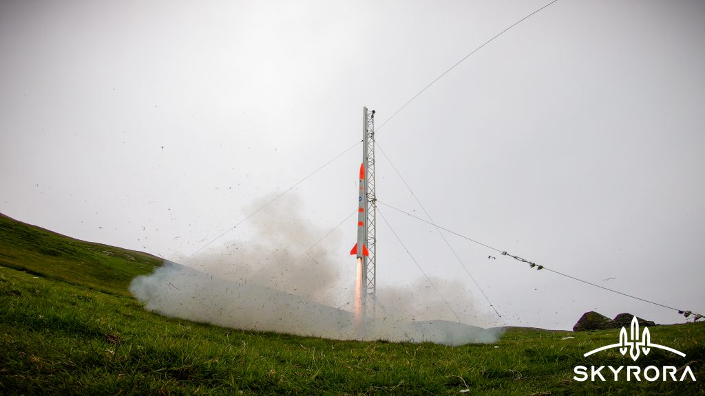 Edinburgh-based Skyrora successfully launched its Skylark Nano rocket from remote land on the Fethaland Peninsula at North Roe on the Scottish island on Saturday (June 13th).