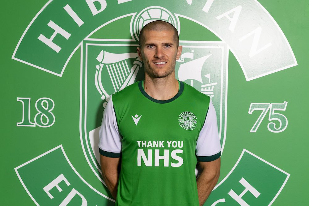 New Hibs midfielder Alex Gogic   Hibs news