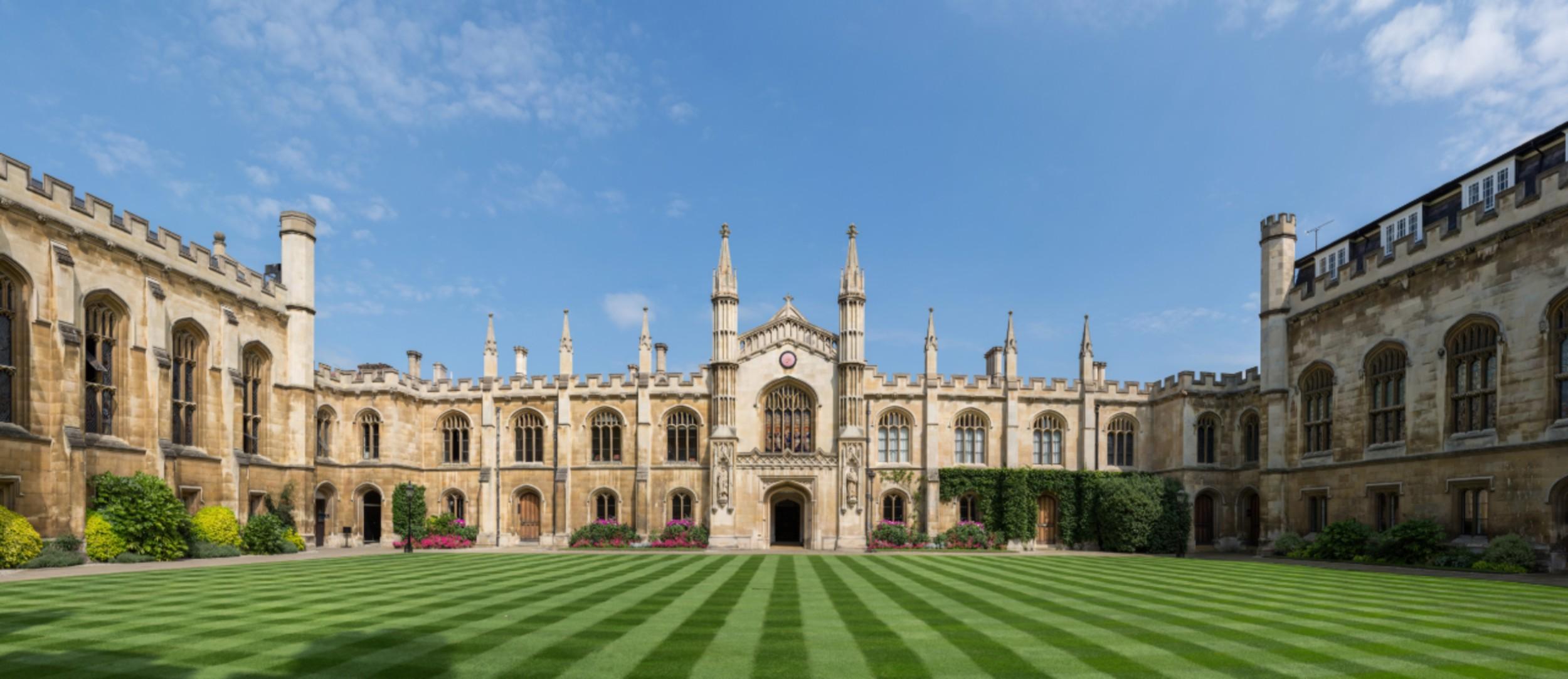 A picture of Photo credit- Diliff/ Wiki Commons. The prestigious Corpus Christi College.