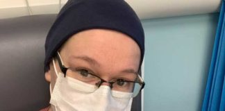 Mum makes plea for people to wear masks