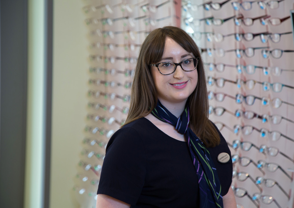 Woman's sight saved by Specsavers optometrist
