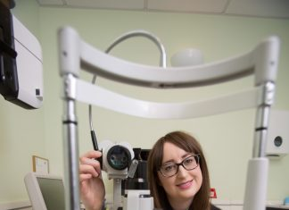 Glasgow woman's sight saved by optometrist