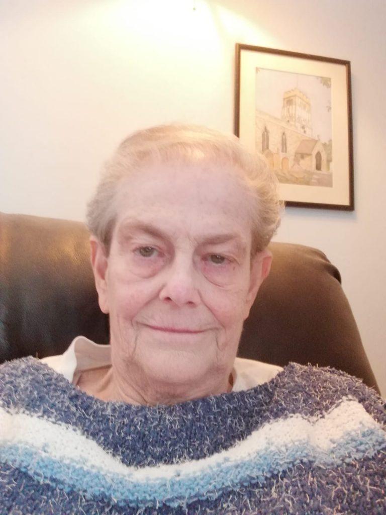 Jenny Martin was born in a prison camp in World War 2