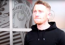 Michael Doyle after joining Queen's Park   Falkirk news