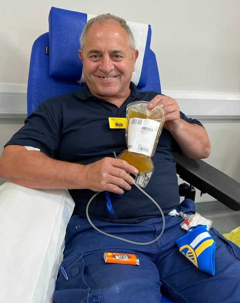 NHS worker donates plasma to help fight coronavirus