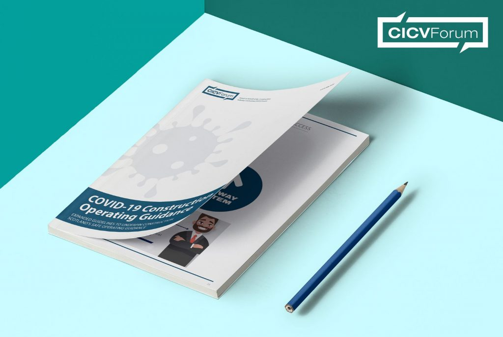 The New CICV forum handbook informing workers how to keep safe as lockdown eases