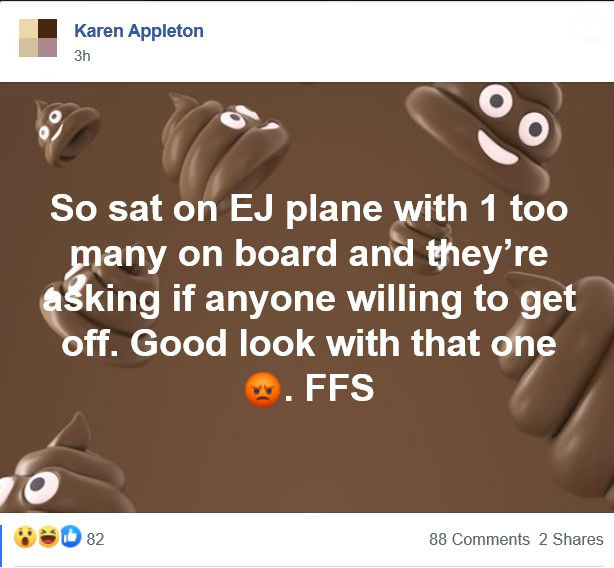 A Facebook post by Karen Appleton- Deadline News business story