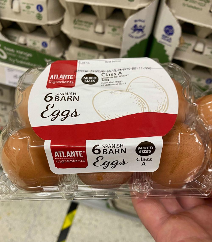 Sainsburys European egg fury