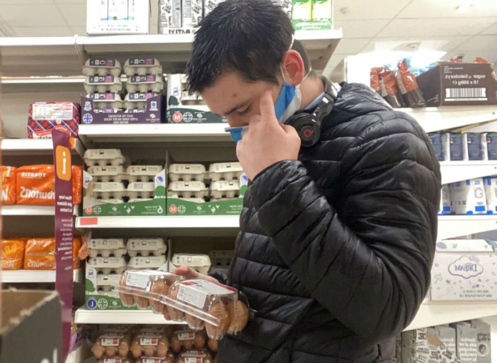 Sainsbury's EU egg fury